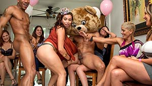 stripper parties bear Dancing fuck